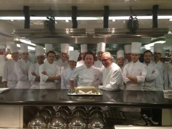Ramsey of Carluke Haggis - served by Tom Kitchin in Paris