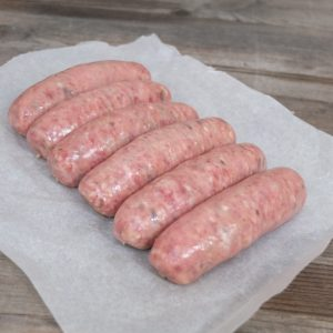 Caramelised Onion Pork Sausages
