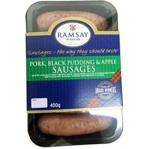 black pudd saus