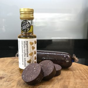 Black Pudding with truffle